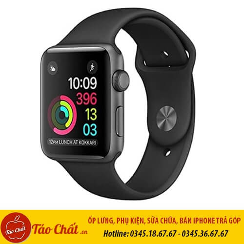 Apple Watch Seri 3 Đen Taochat.vn