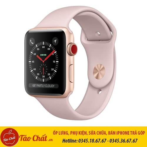 Apple Watch Seri 3 Màu Hồng Taochat.vn