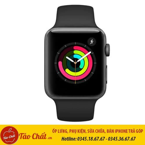 Apple Watch Seri 3 Màu Đen Taochat.vn