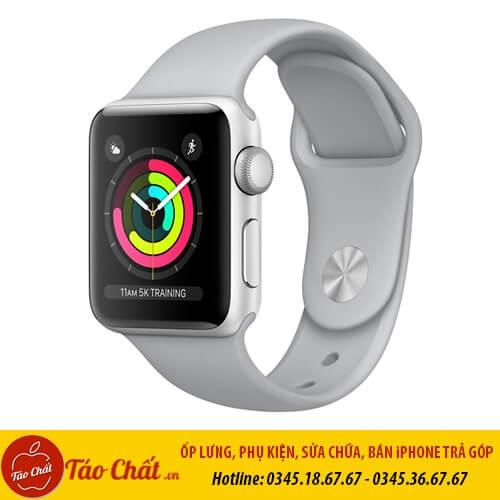 Apple Watch Seri 3 Màu Trắng Taochat.vn