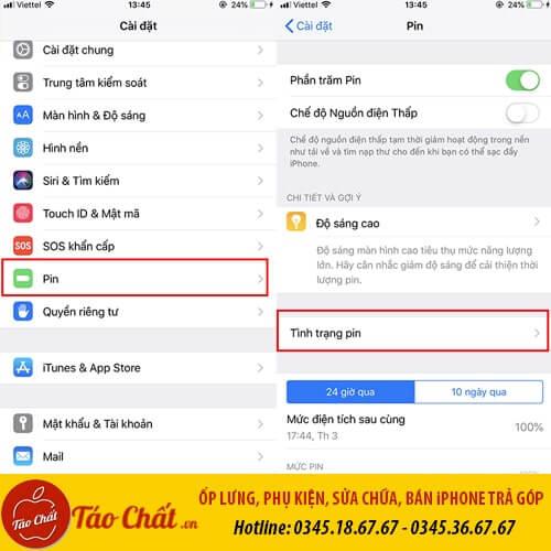Kiểm Tra Tình Trạng Pin Taochat.vn