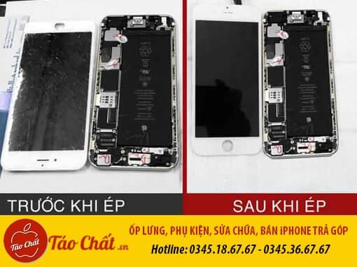 Thay Ép Mặt Kính iPhone Đà Nẵng Taochat.vn