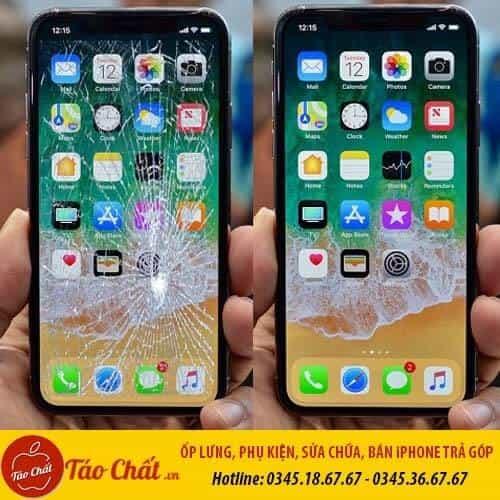 Thay Ép Mặt Kính Kính iPhone Xs Max Taochat.vn
