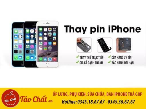 Thay Pin iPhone Giá Rẻ Taochat.vn